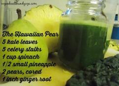 Hawaiian Green Juice