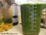 pineapple kale juice