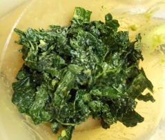 softened kale