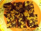 raw vegan walnut brownies