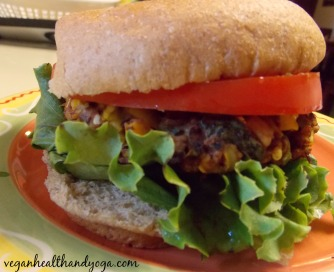 bean veggie burger