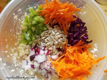 raw couscous mix
