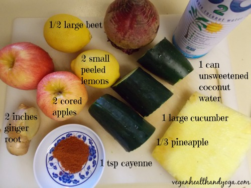 INGREDIENTS 4 JUICE